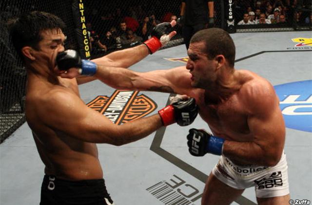 Lyoto Machida and Mauricio Rua, UFC 104