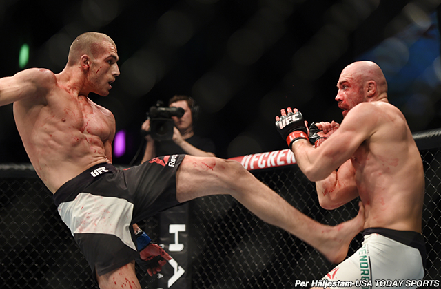 Tom Breese and Cathal Pendred