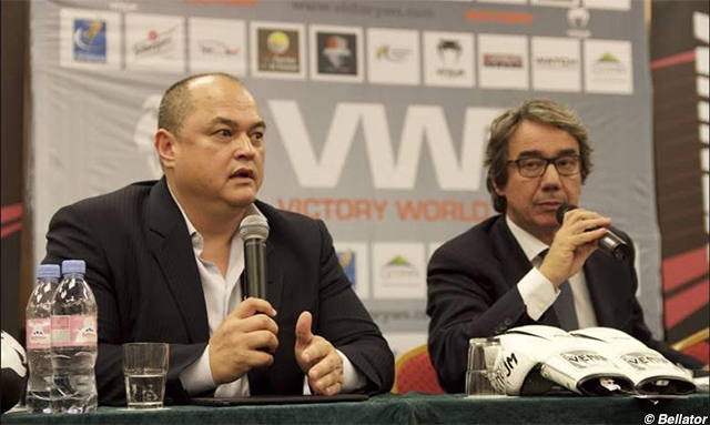 Scott Coker and Carlo Di Blasi
