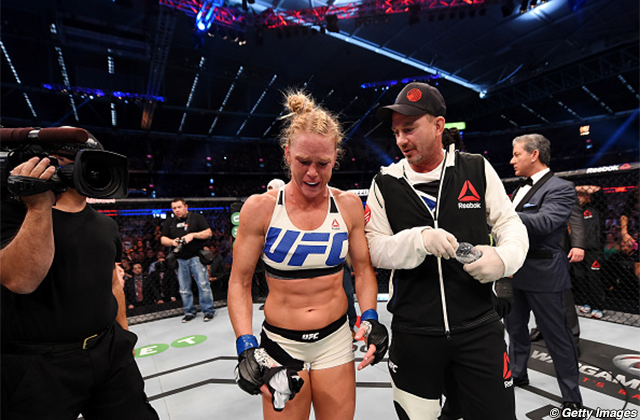 Holly Holm and Mike Winkeljohn
