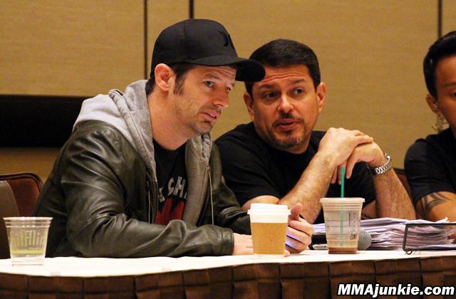 UFC matchmakers Sean Shelby and Joe Silva