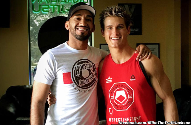 Mike Jackson and Sage Northcutt
