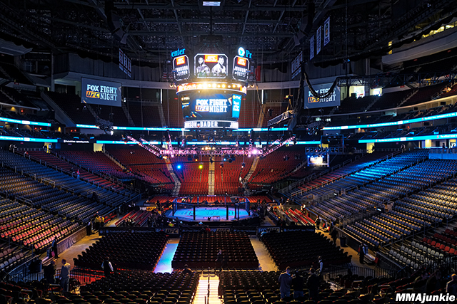 Prudential Center, UFC on FOX 18