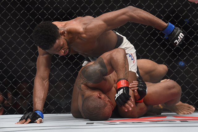 Neil Magny and Hector Lombard