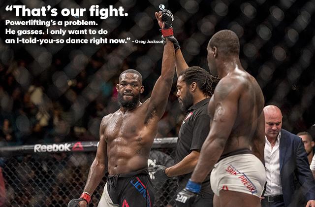 Jon Jones at UFC 197 (Joshua Dahl-USA TODAY Sports)