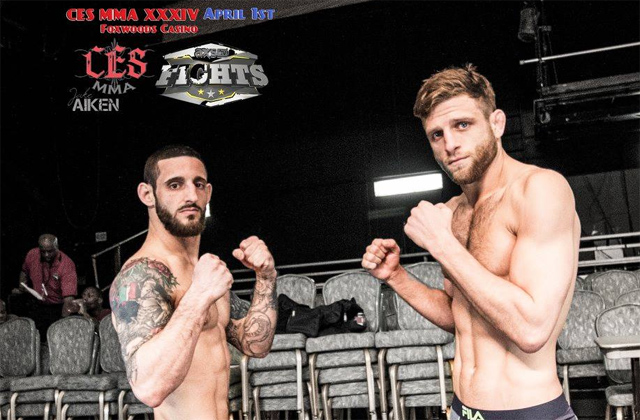 Kenny Foster and Calvin Kattar