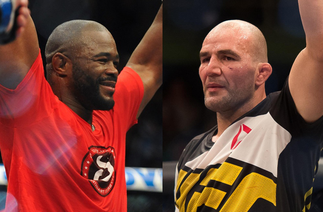 Rashad Evans and Glover Teixeira