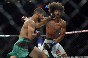 Yair Rodriguez and Alex Caceres