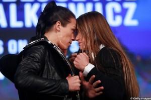 Joanna Jedrzejczyk and Karolina Kowalkiewicz