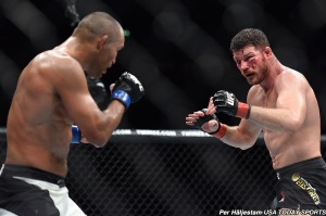 Dan Henderson and Michael Bisping