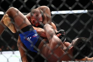Johny Hendricks and Neil Magny