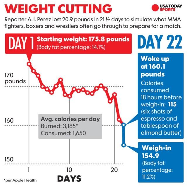 aj-perez-weight-cut-chart