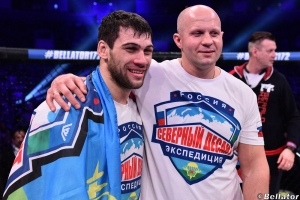 Anatoly Tokov and Fedor Emelianenko