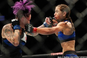 Bec Rawlings and Tecia Torres