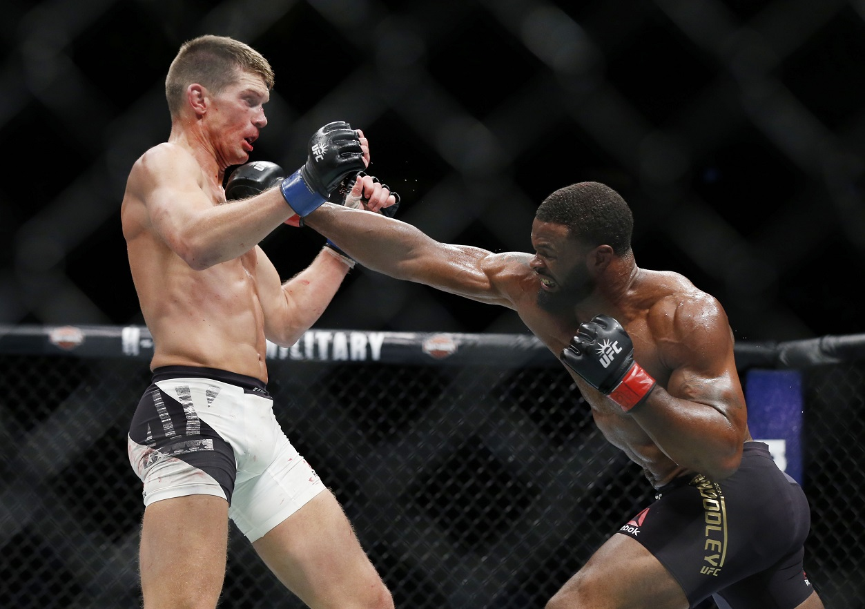 Stephen Thompson and Tyron Woodley