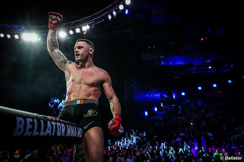 Kiefer Crosbie (Pic: Bellator MMA)