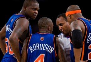 Zach Randolph, Nate Robinson and Quentin Richardson - Icon Sports Media