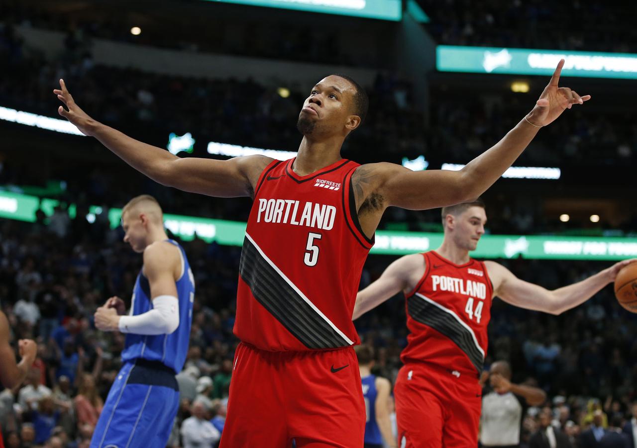 Rodney Hood, Portland Trail Blazers