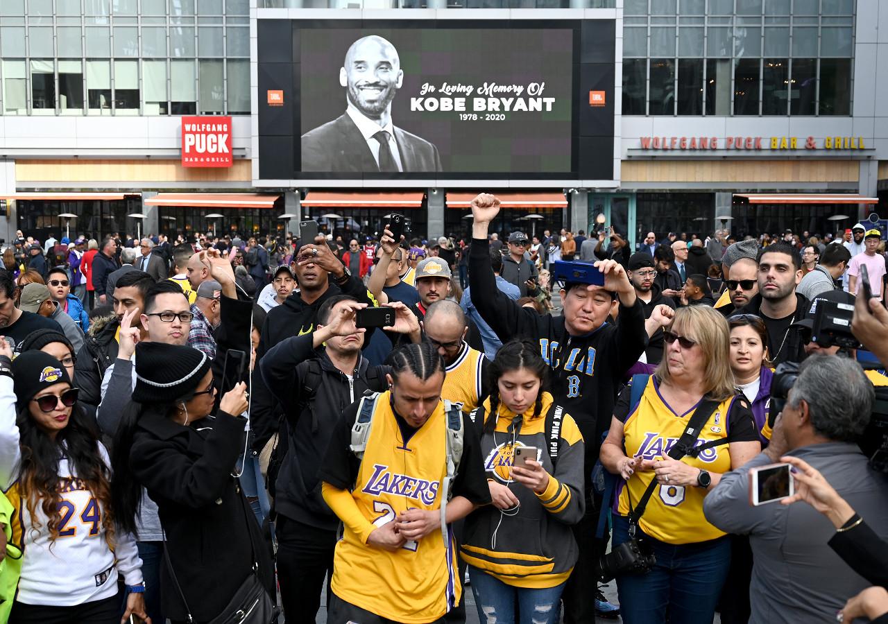 NBA:Staples Center-Kobe Bryant Tribute