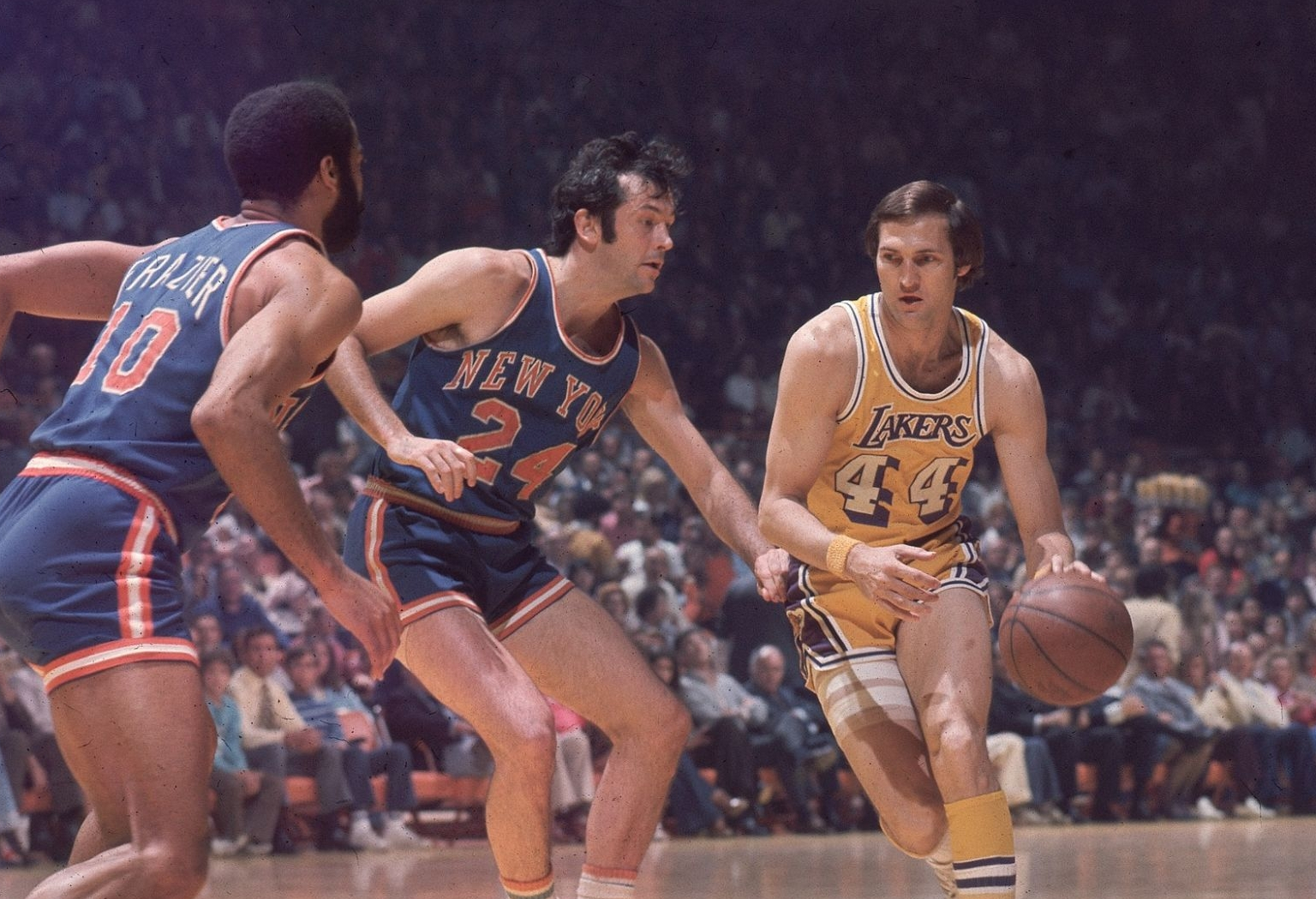 Jerry West vs. Knicks, 1973