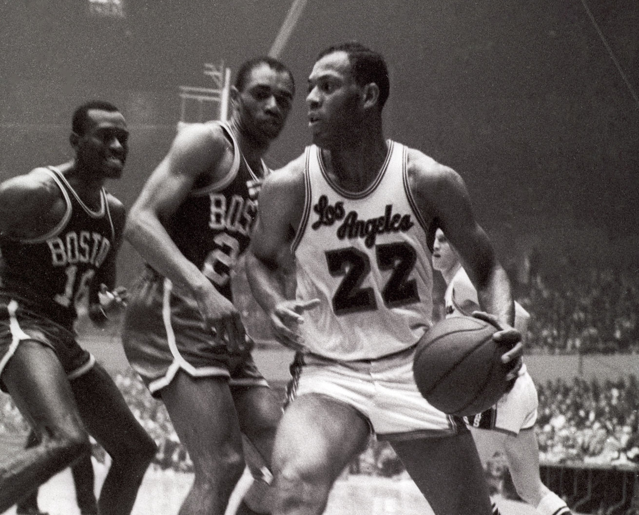 Elgin Baylor vs. Boston Celtics