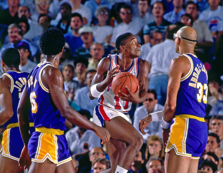 Isiah Thomas, Detroit Pistons