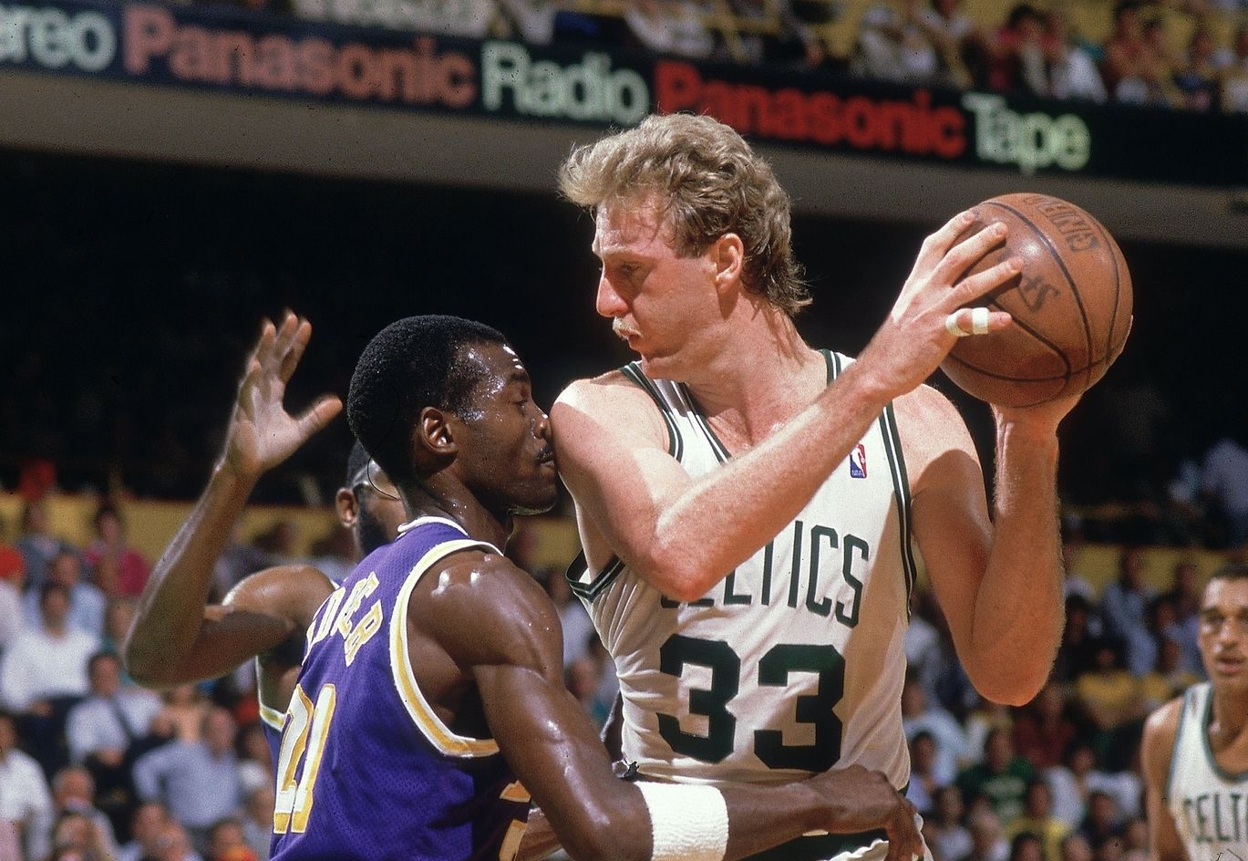 Larry Bird vs. Michael Cooper
