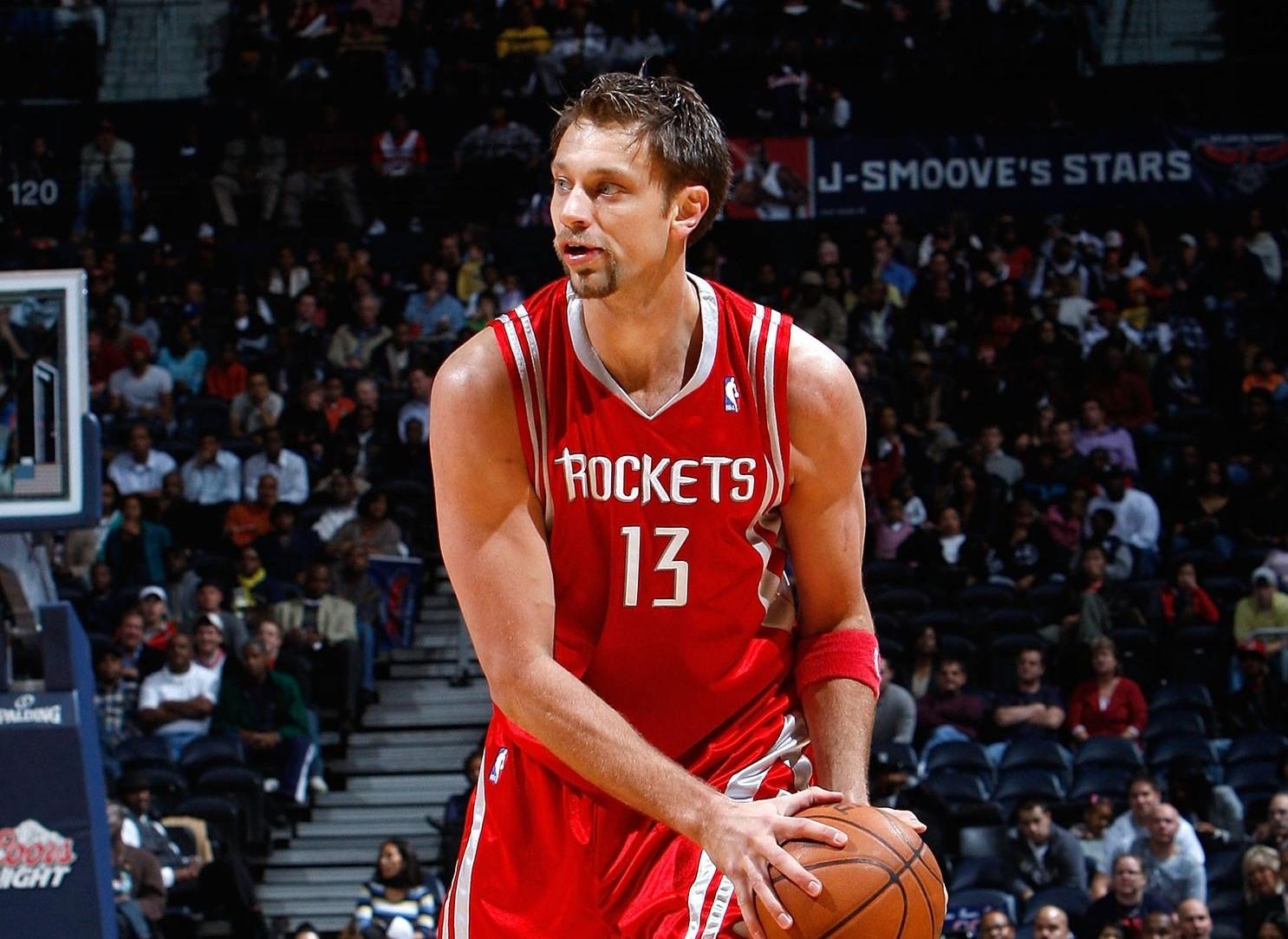 David Andersen, Houston Rockets