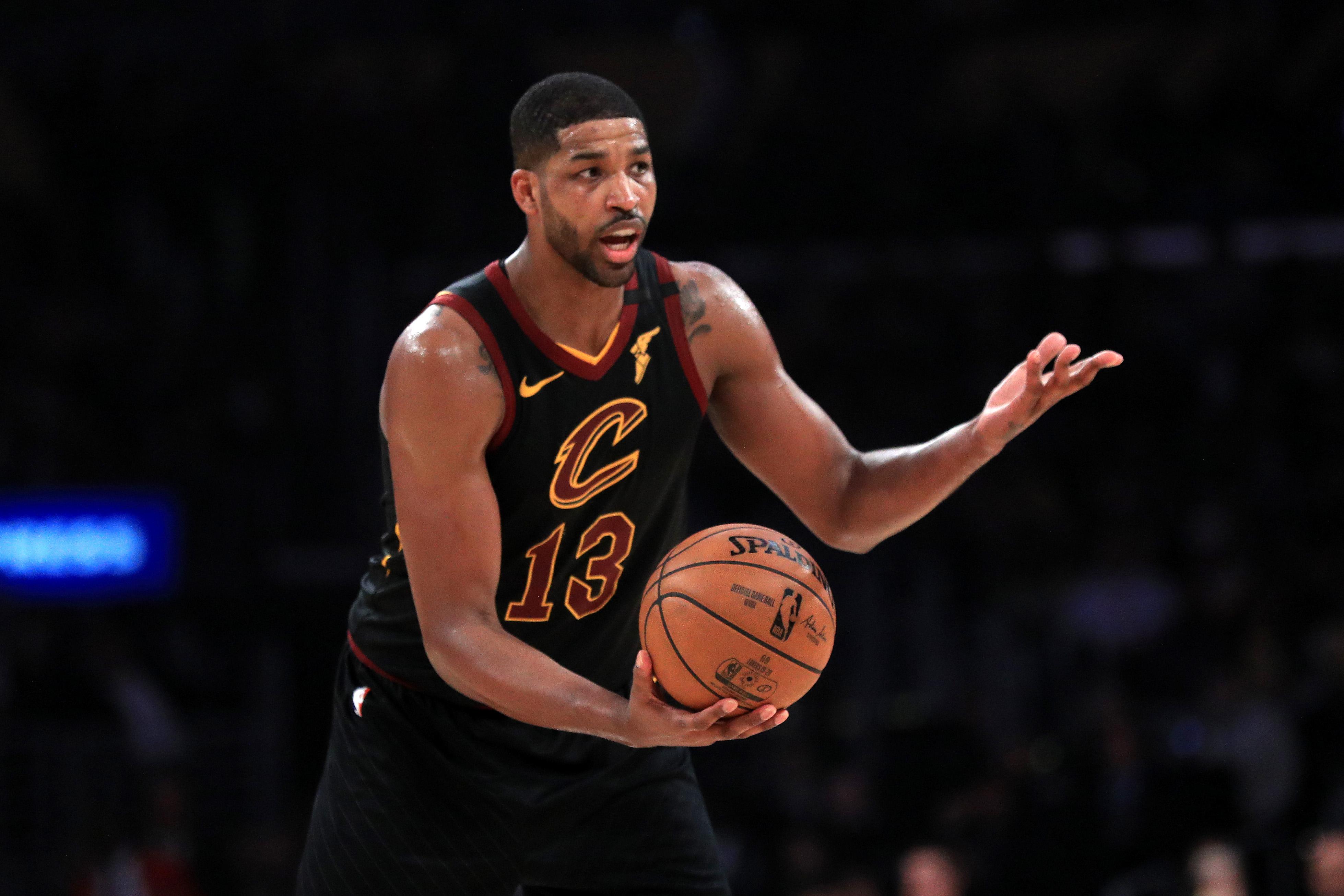 Tristan Thompson Cleveland Cavaliers Cavs NBA