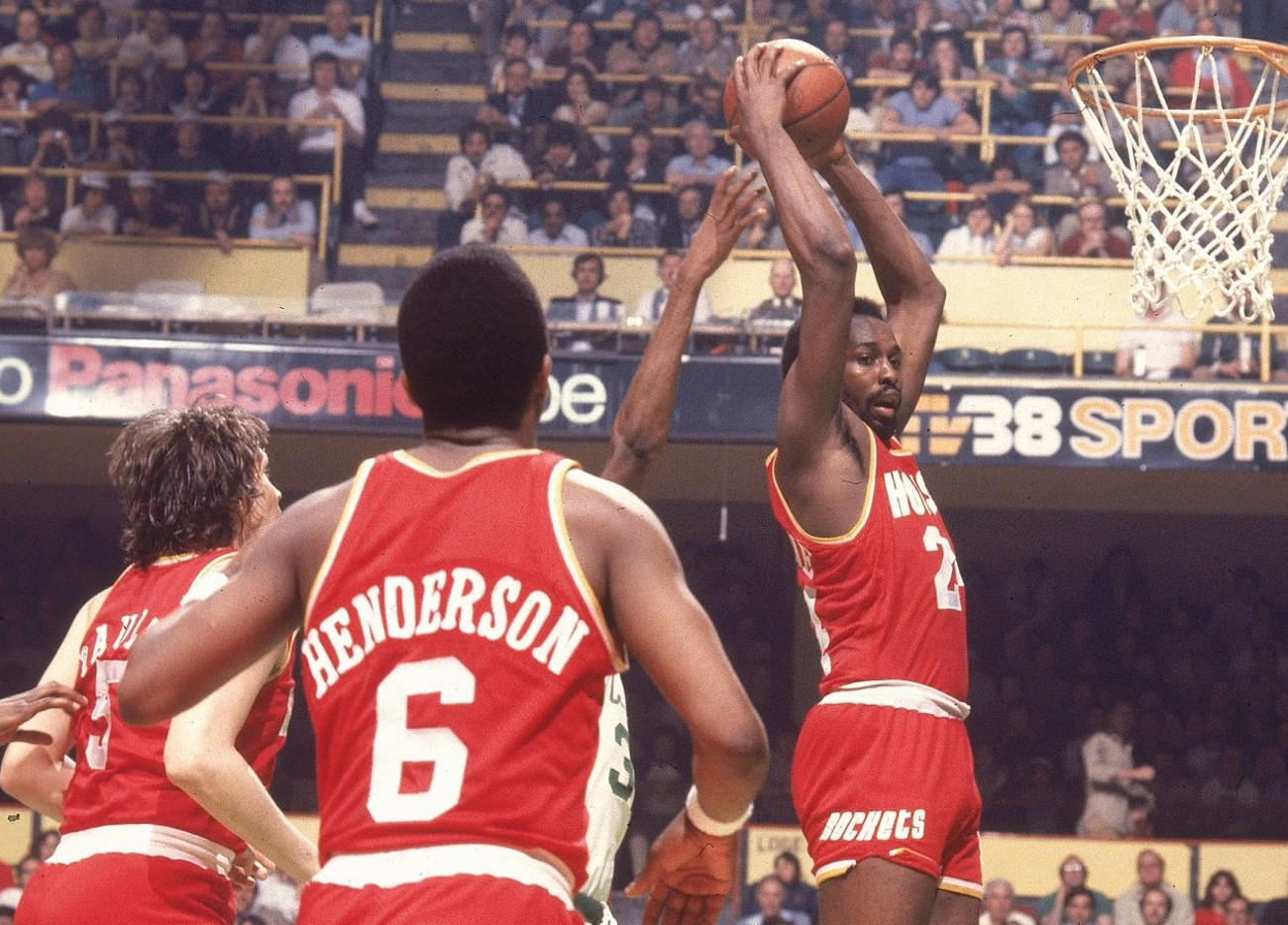 Moses Malone, Houston Rockets