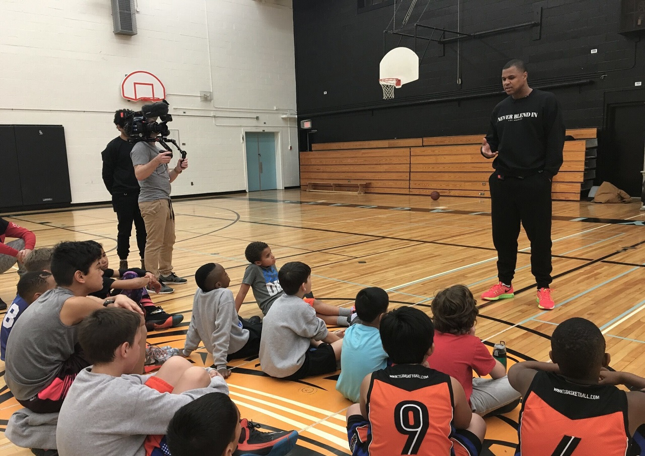 Schea Cotton Manchild Documentary teaching basketball