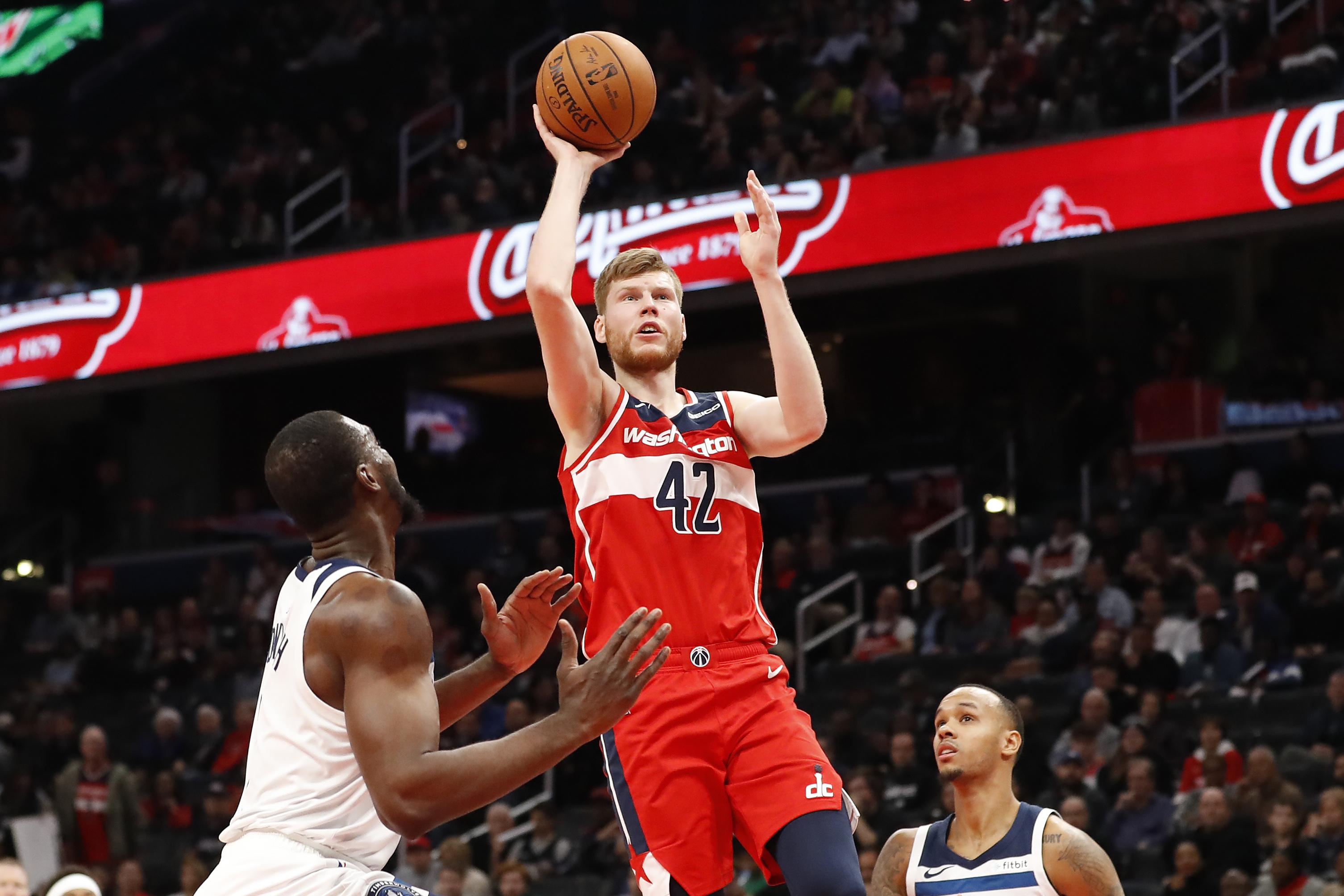 Davis Bertans Wizards Washington NBA
