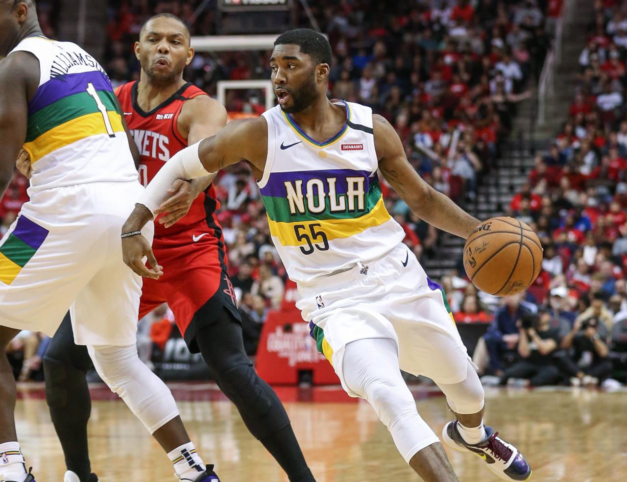 E'Twaun Moore, New Orleans Pelicans