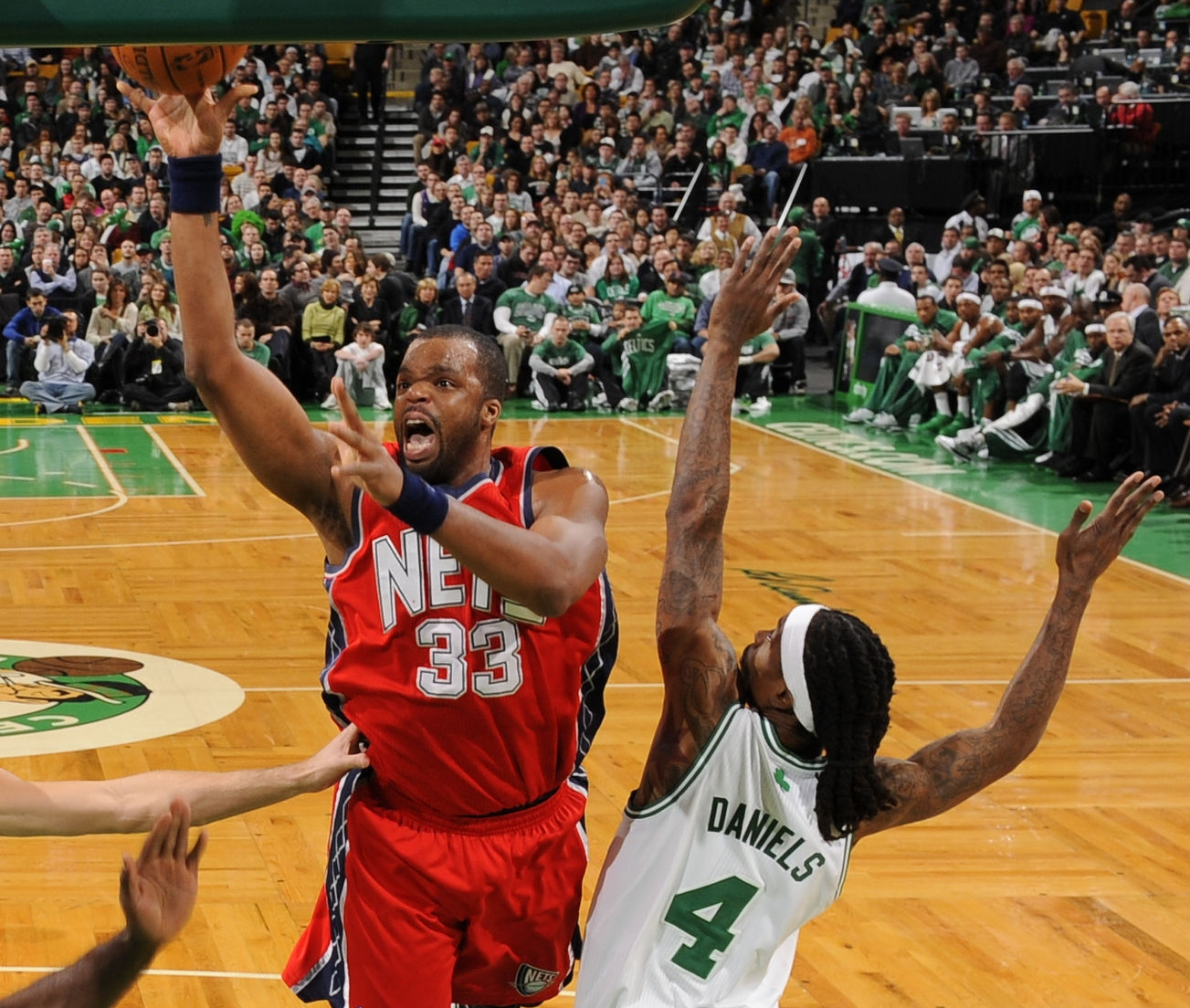 Shelden Williams, New Jersey Nets
