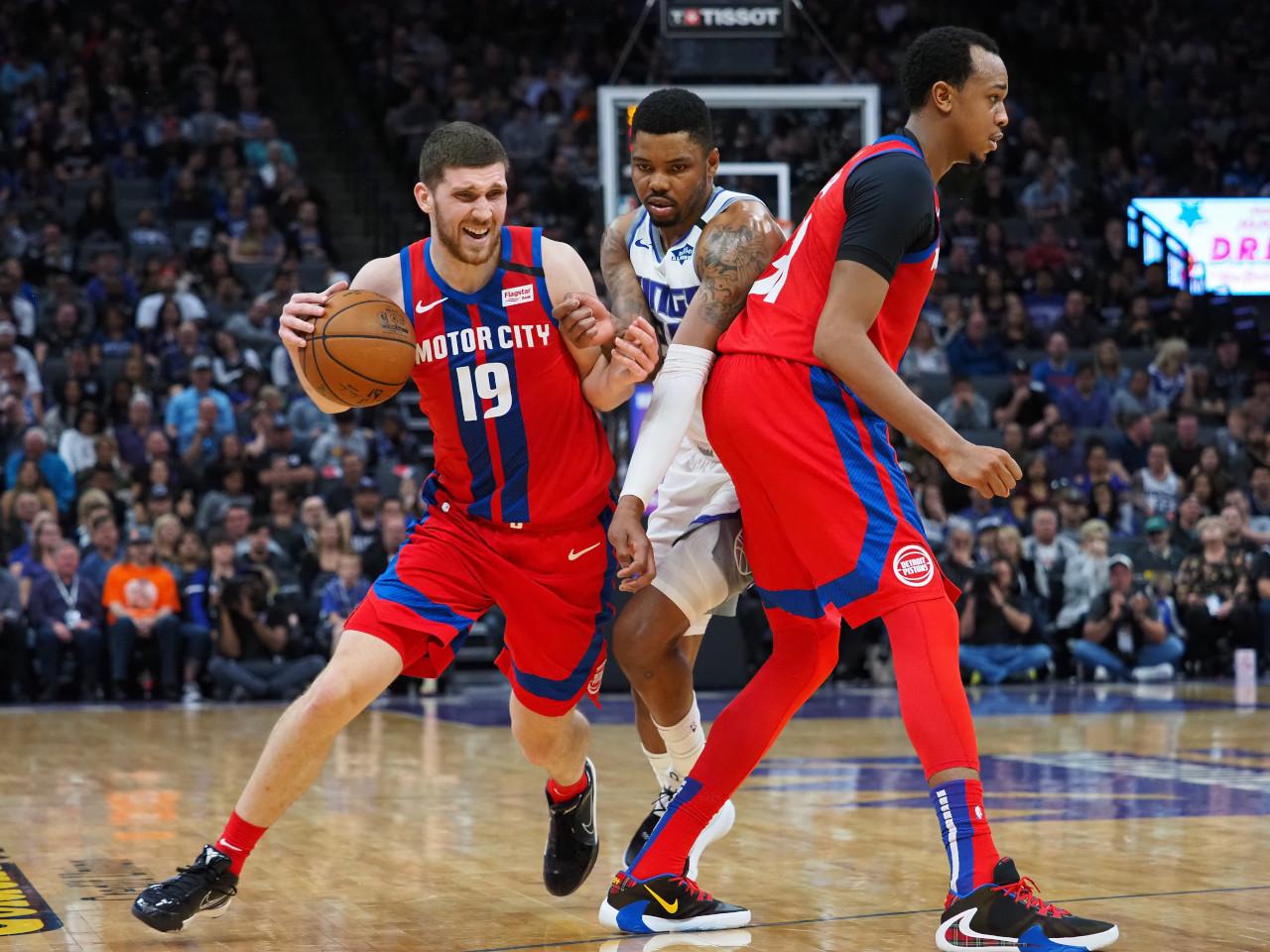Sviatoslav Mykhailiuk, Detroit Pistons