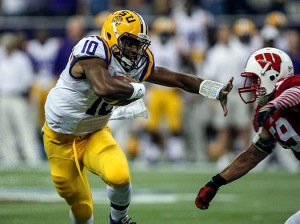 LSU quarterback Anthony Jennings (10) is one of the many young players who should lead LSU on the path to success this season, regardless of how bumpy it may be. / Troy Taormina, USA TODAY Sports