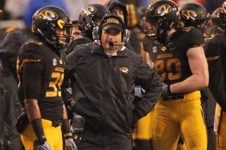 Outgoing Missouri coach Gary Pinkel faced many obstacles in 2015. Credit: USA TODAY Sports Images
