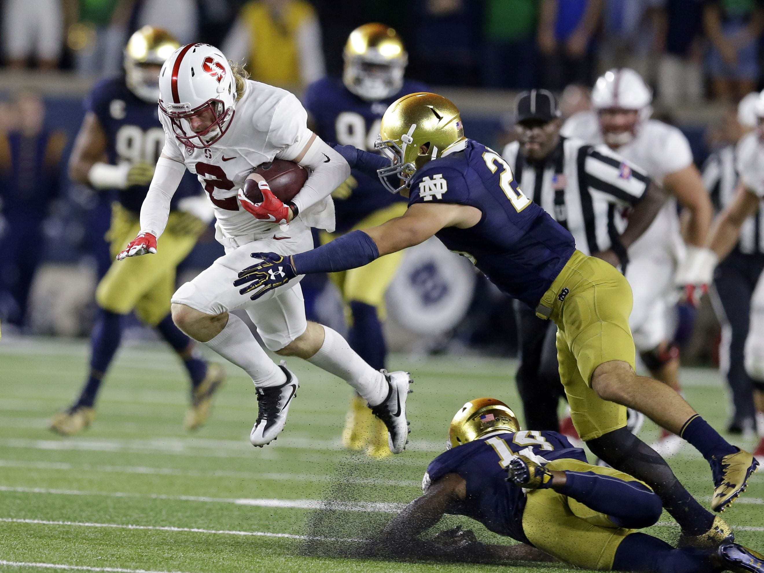 Notre Dame's start is among worst ever with tough games ...