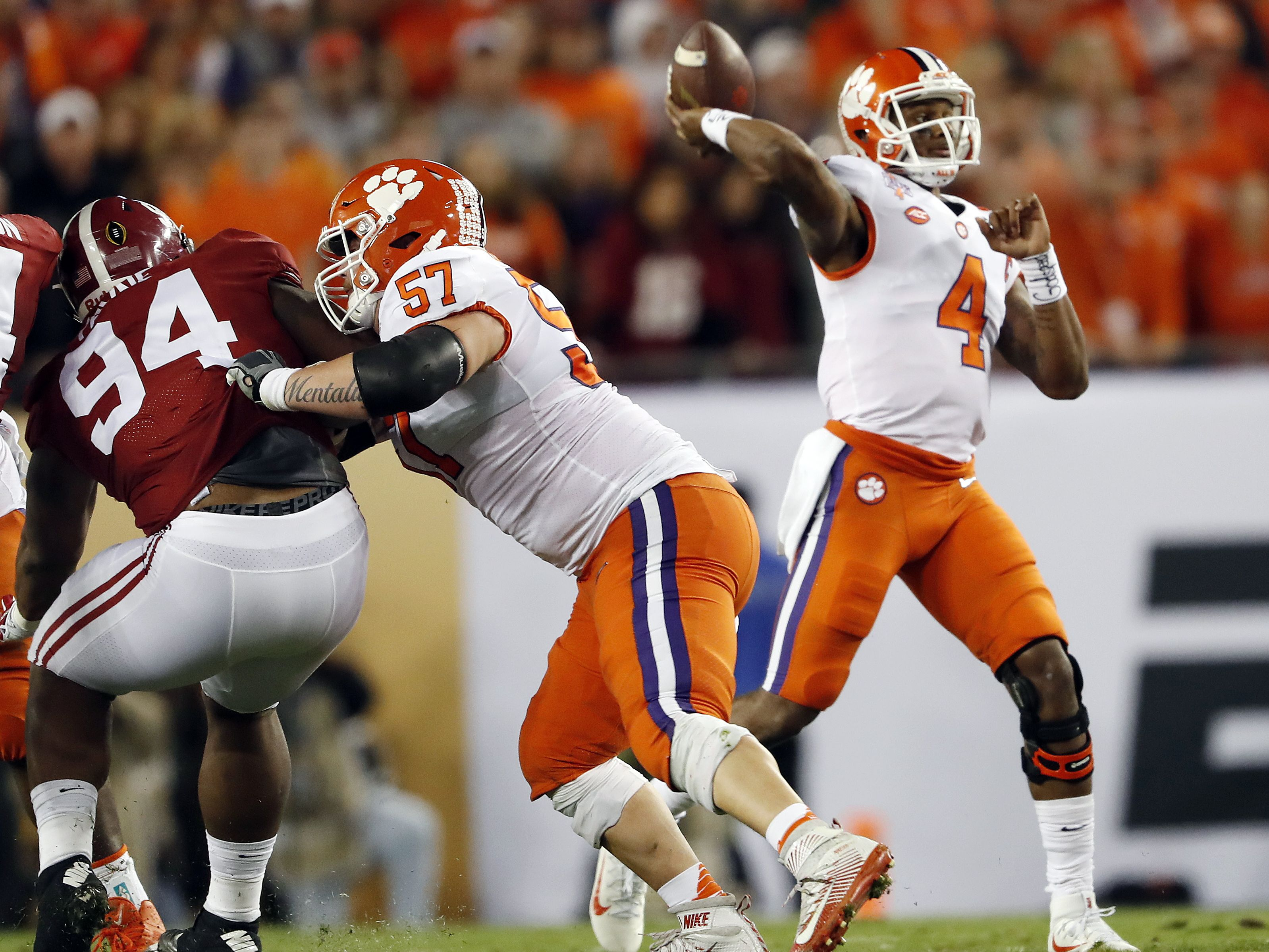 The Latest: Clemson wins national championship, 35-31 ...
