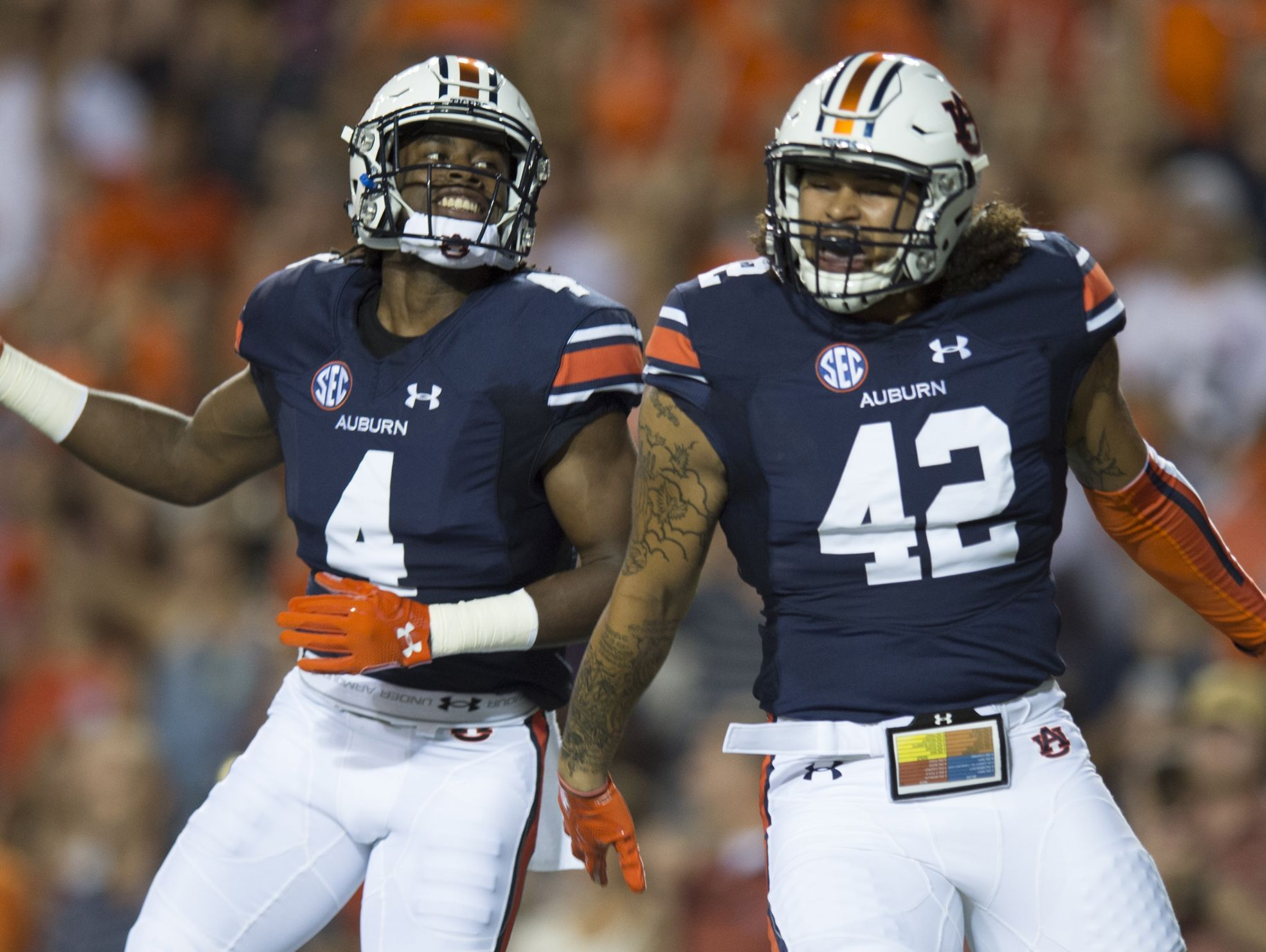 Projected Auburn depth chart (Preseason spring practice ...