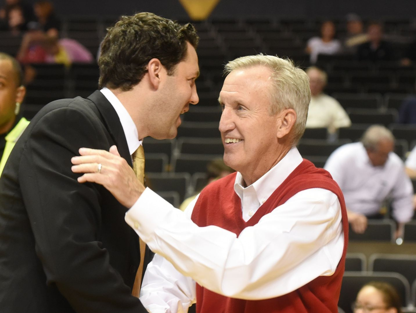 Vanderbilt second-year coach Bryce Drew, left, and Belmont's Rick Byrd will lead their team's against each other in a game at Belmont's Curb Event Center in November.