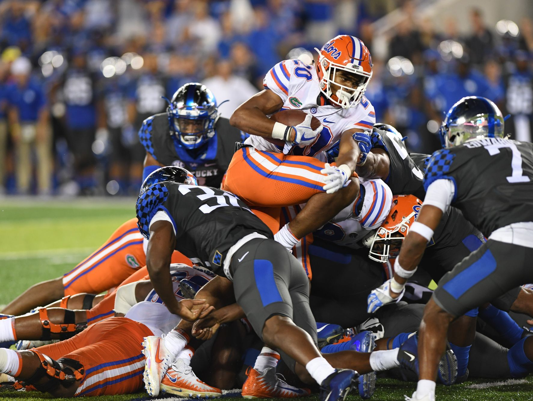 Grading Kentucky football's performance in loss to Florida ...
