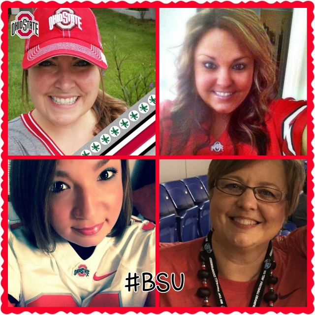 Lindsay is in the upper left hand corner, give her a follow on twitter @Buckeyelinds27