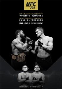 UFC 209 Poster