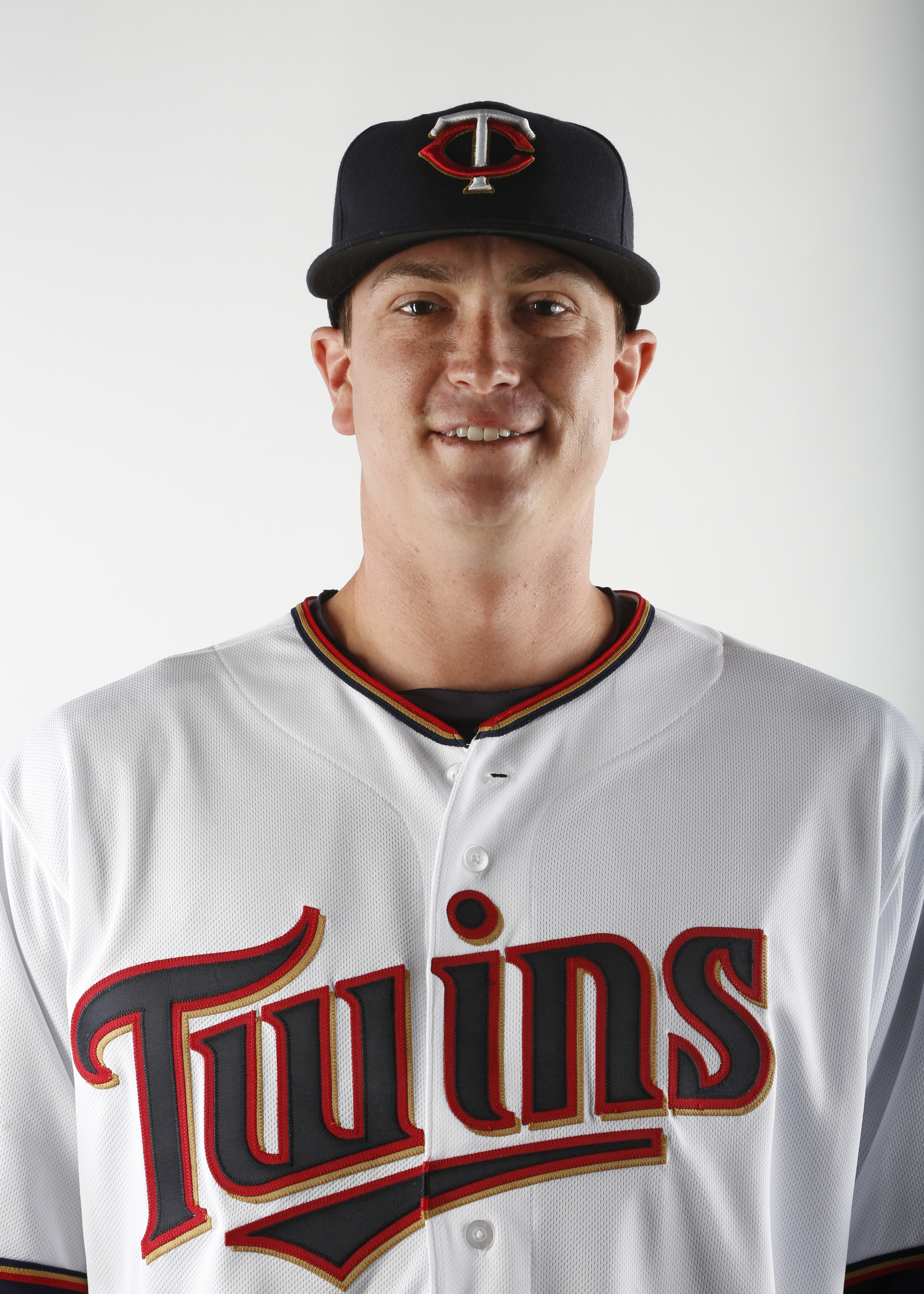 FORT MYERS, FL - MARCH 3:  Kyle Gibson #44 of the Minnesota Twins poses for a photo on March 3, 2015 at Hammond Stadium in Fort Myers, Florida.  (Photo by Brian Blanco/Getty Images)