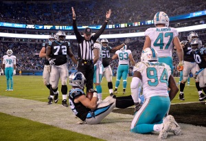 The Dolphins defense needs to improve their tackling and push up front