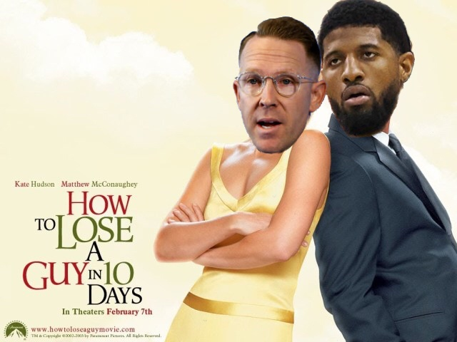 Sam Presti and Paul George