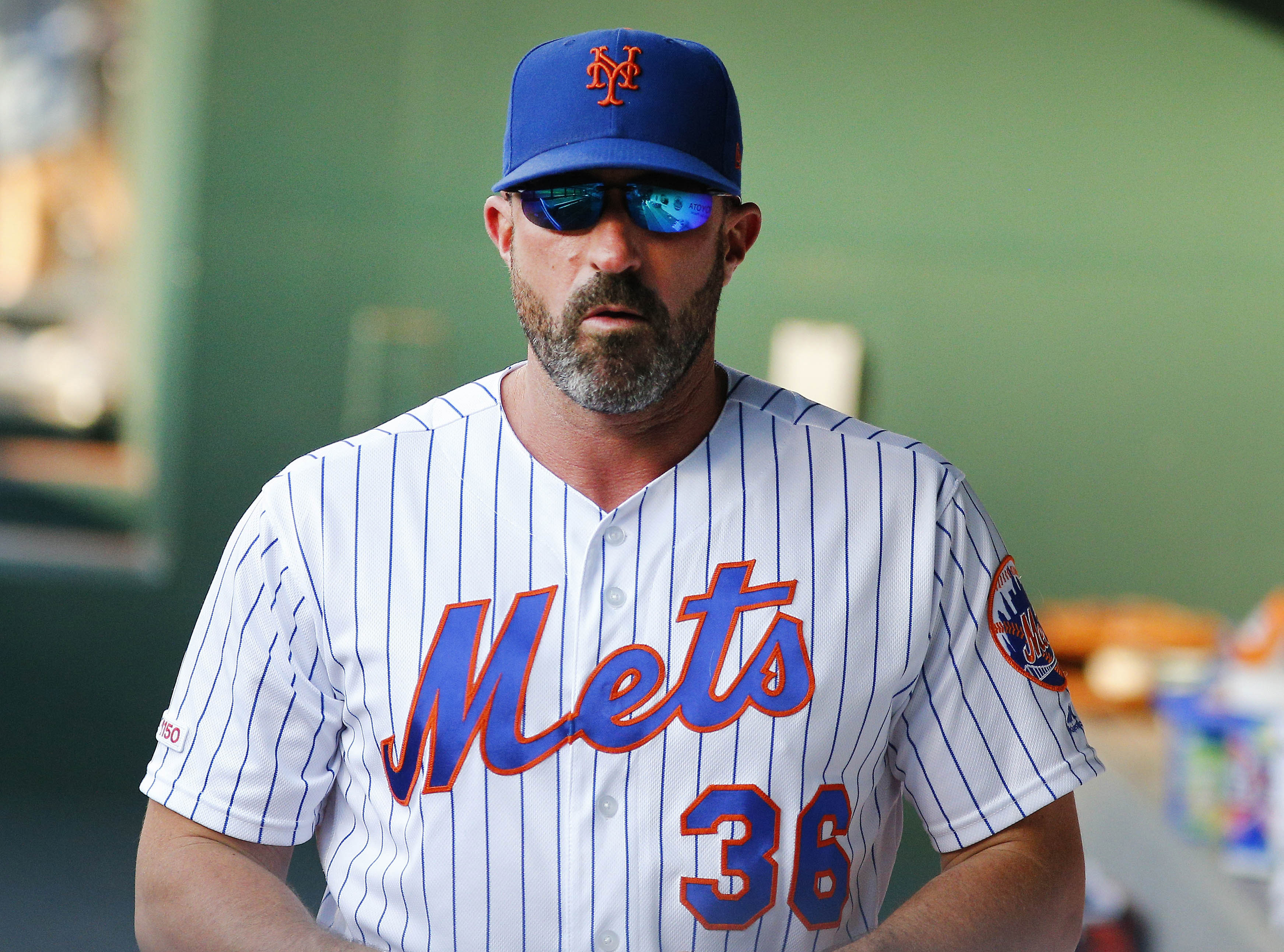 Mickey Callaway's job is safe for the rest of the season ...