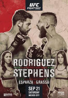 ufc fight night rodriguez vs stephens fight card