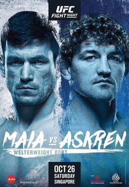 ufc fight night maia vs askren fight card